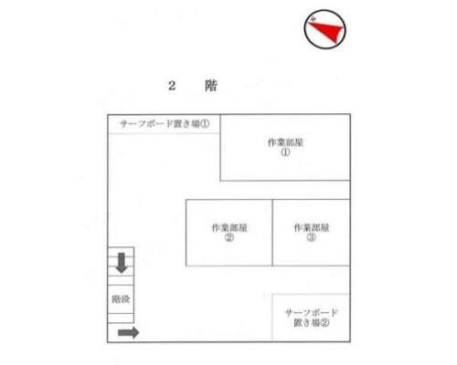 藤沢市 小田急江ノ島線長後駅の売工場・売倉庫画像(2)