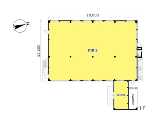 相模原市中央区 JR相模線南橋本駅の売工場・売倉庫画像(1)