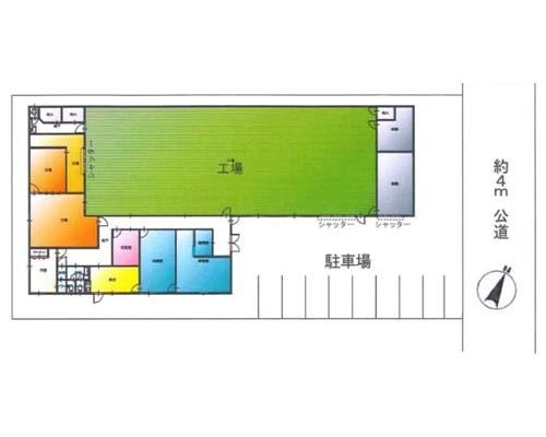 川越市 東武東上線上福岡駅の売工場・売倉庫画像(1)