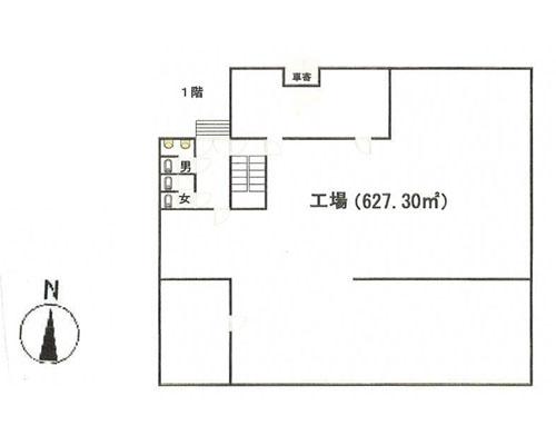 所沢市 JR武蔵野線東所沢駅の売倉庫画像(1)