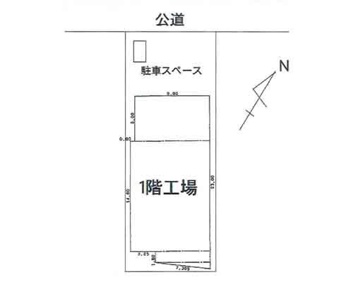 入間郡三芳町 東武東上線鶴瀬駅の売工場・売倉庫画像(1)