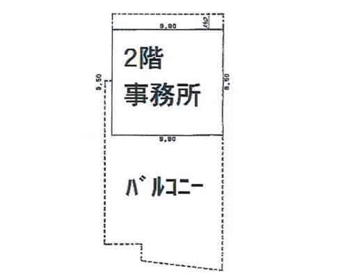 入間郡三芳町 東武東上線鶴瀬駅の売工場・売倉庫画像(2)