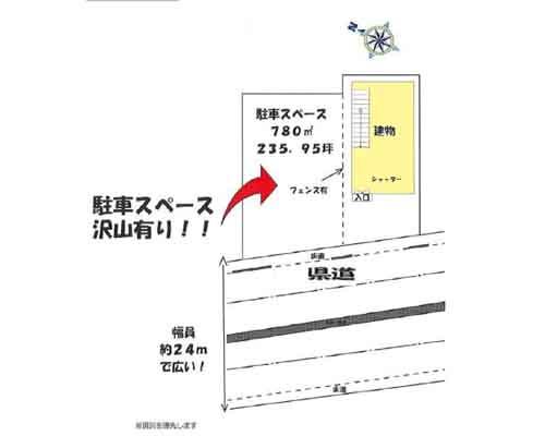 上尾市 埼玉新都市交通伊奈線沼南駅の売店舗・売事務所画像(1)