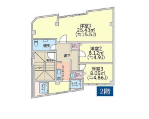 大田区 東急池上線長原駅の売ビル画像(3)