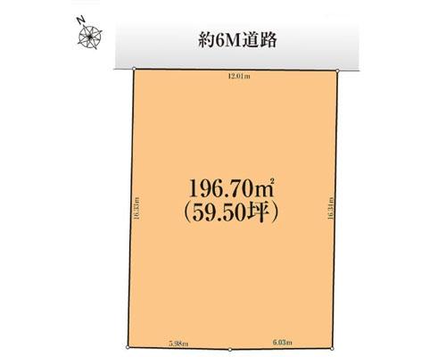 千葉市花見川区 京成千葉線検見川駅の売事業用地画像(1)