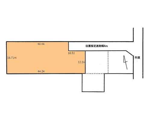 船橋市 新京成電鉄新京成線二和向台駅の売事業用地画像(1)