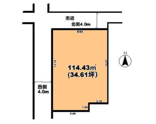 市川市 東京メトロ東西線原木中山駅の売事業用地画像(1)
