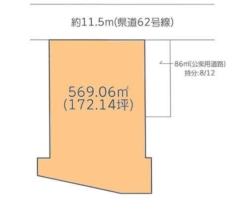 平塚市 小田急小田原線東海大学前駅の売事業用地画像(1)