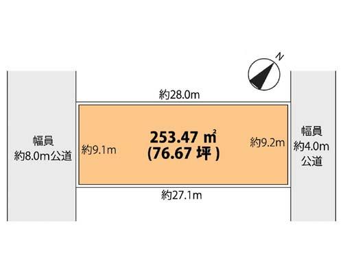 大和市 小田急江ノ島線鶴間駅の売事業用地画像(1)