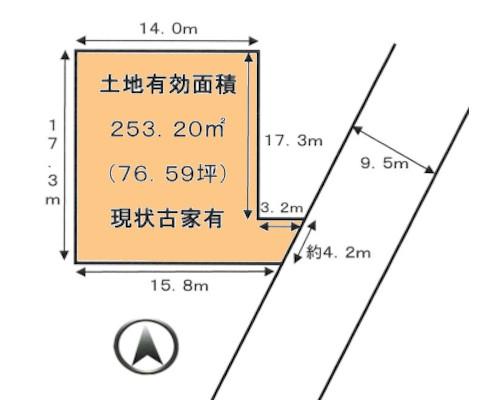 海老名市 JR相模線門沢橋駅の売事業用地画像(1)