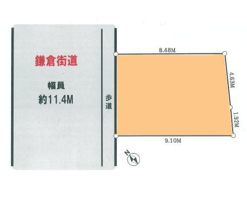 鎌倉市 JR東海道本線大船駅の売事業用地画像(1)