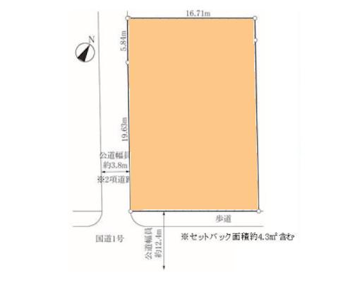 茅ヶ崎市 JR東海道本線辻堂駅の売事業用地画像(1)