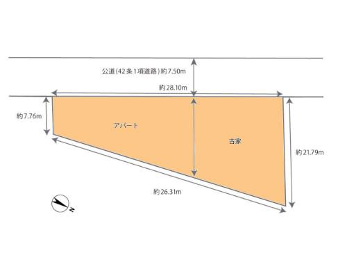 藤沢市 JR東海道本線藤沢駅の売事業用地画像(1)