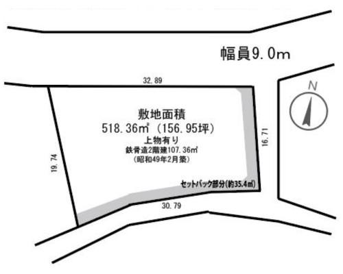 藤沢市 小田急小田原線海老名駅の売事業用地画像(1)