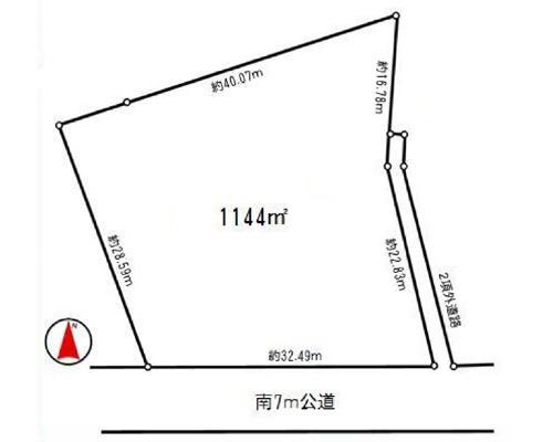 狭山市 西武新宿線入曽駅の売事業用地画像(1)
