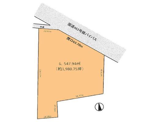 所沢市 西武池袋線入間市駅の売事業用地画像(1)
