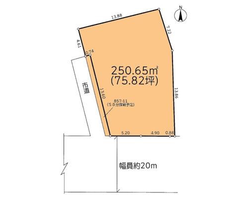 さいたま市中央区 JR京浜東北線与野駅の売事業用地画像(1)