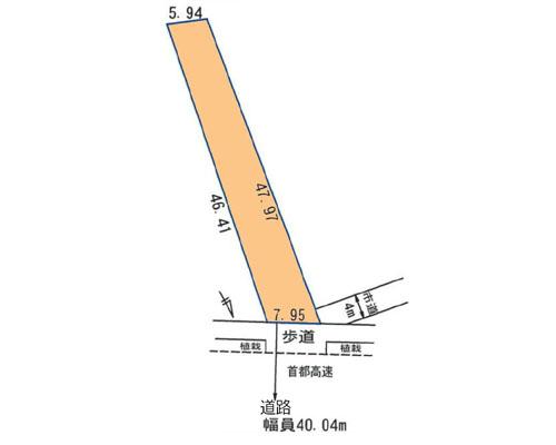 川口市 埼玉高速鉄道新井宿駅の売事業用地画像(1)