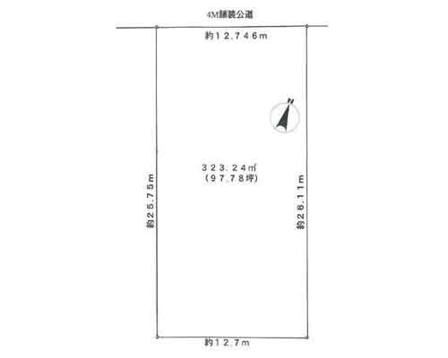 所沢市 西武新宿線航空公園駅の売事業用地画像(1)