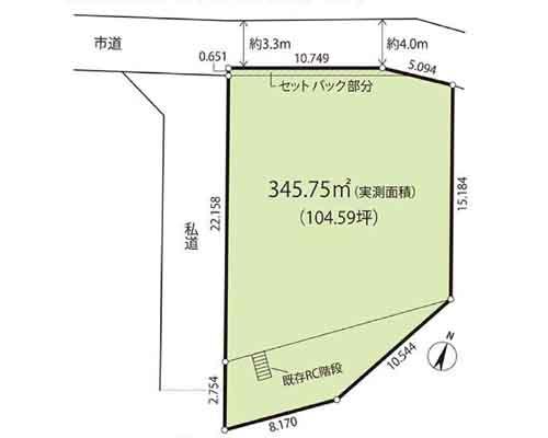 さいたま市中央区 JR埼京線南与野駅の売事業用地画像(1)