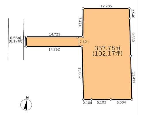 さいたま市中央区 JR東北本線大宮駅の売事業用地画像(1)