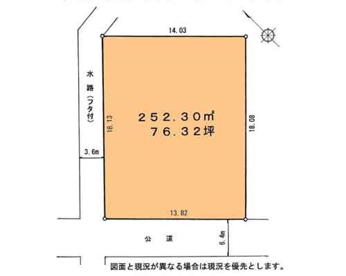 川口市 埼玉高速鉄道鳩ケ谷駅の売事業用地画像(1)