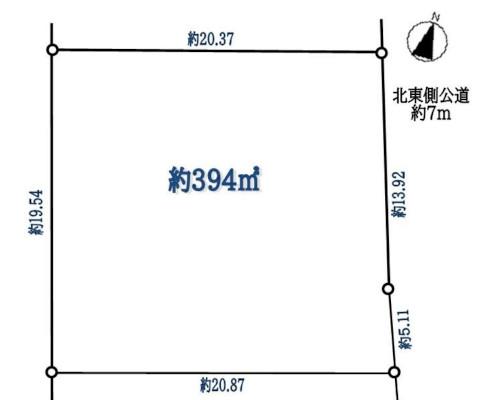 鶴ヶ島市 東武東上線鶴ヶ島市の売事業用地画像(1)