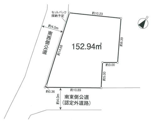 狭山市 西武新宿線狭山市駅の売事業用地画像(1)