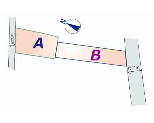 北葛飾郡松伏町 JR武蔵野線吉川駅の売事業用地画像(2)