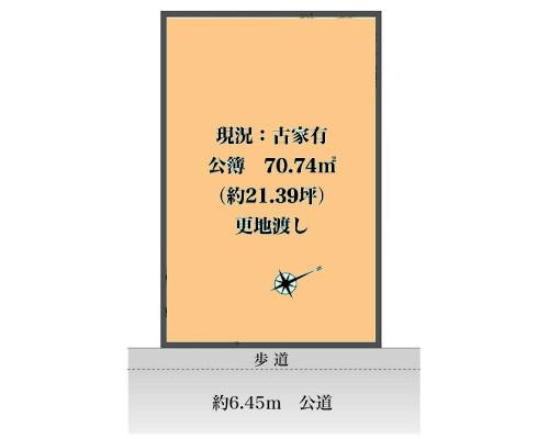 杉並区 京王井の頭線富士見ヶ丘駅の売事業用地画像(1)