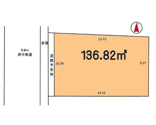 東村山市 西武新宿線東村山駅の売事業用地画像(1)