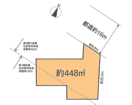 日野市 JR中央本線豊田駅の売事業用地画像(1)