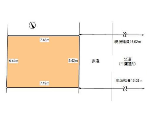 武蔵野市 JR中央本線三鷹駅の売事業用地画像(1)