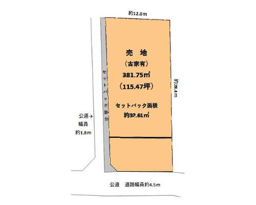 青梅市 JR青梅線青梅駅の売事業用地画像(1)