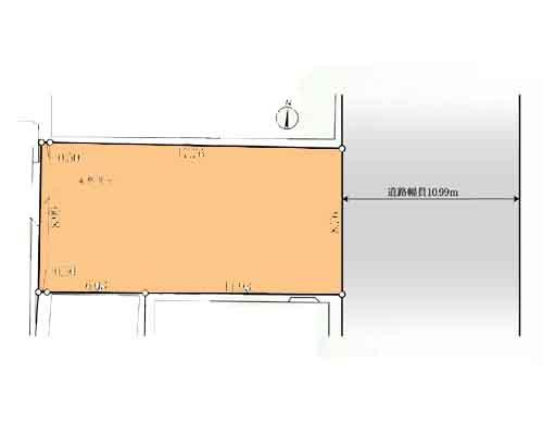 江東区 都営新宿線菊川駅の売事業用地画像(1)