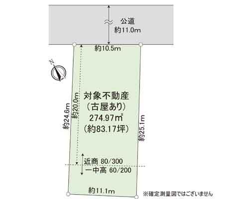 足立区 日暮里・舎人ライナー舎人駅の売事業用地画像(1)
