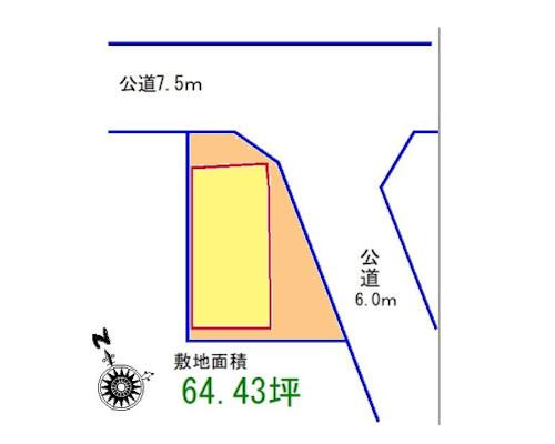 あきる野市 JR五日市線東秋留駅の売事業用地画像(1)