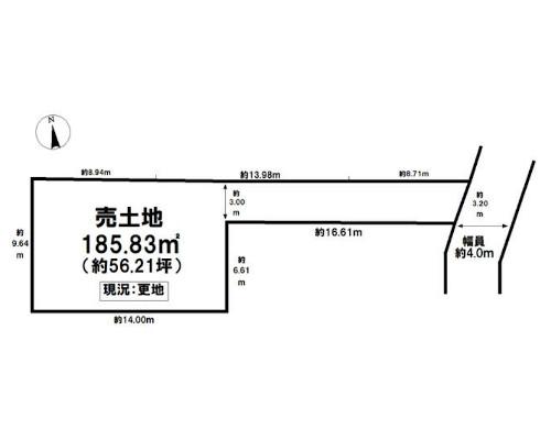 葛飾区 JR常磐線金町駅の売事業用地画像(1)