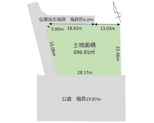 小平市 西武新宿線小平駅の売事業用地画像(1)