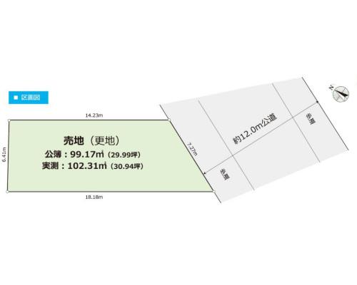 板橋区 東武東上線下赤塚駅の売事業用地画像(1)