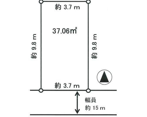 中野区 西武新宿線野方駅の売事業用地画像(1)