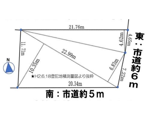 西東京市 西武池袋線保谷駅の売事業用地画像(1)