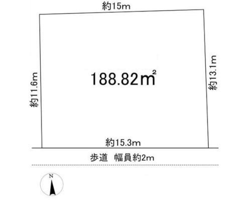 清瀬市 西武池袋線秋津駅の売事業用地画像(1)