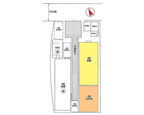 千葉市美浜区 JR中央稲毛駅の貸工場・貸倉庫画像(1)