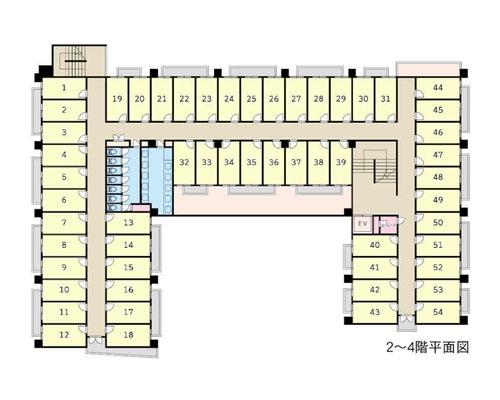 松戸市 JR常磐線松戸駅の貸寮画像(2)