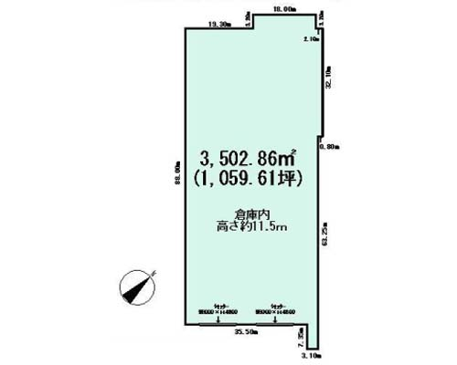 四街道市 JR総武本線四街道駅の貸倉庫画像(1)