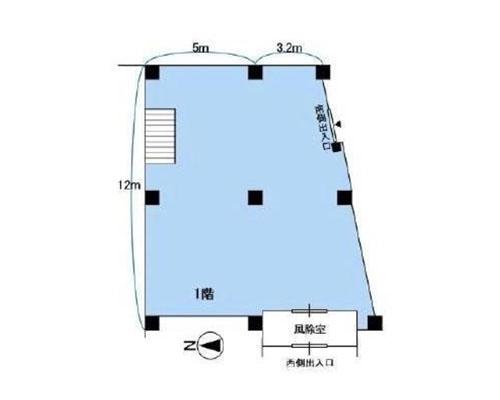松戸市 新京成線五香駅の貸事務所画像(1)