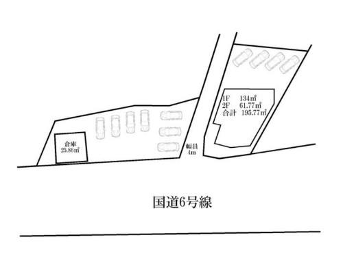 松戸市 JR常磐緩行線北小金駅の貸事務所画像(1)