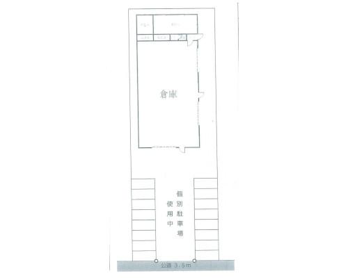 野田市 東武野田線川間駅の貸倉庫画像(1)