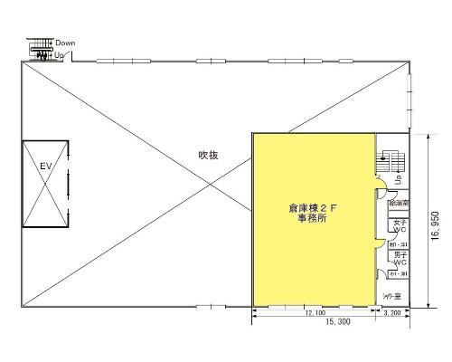 厚木市 小田急小田原線本厚木駅の貸工場・貸倉庫画像(3)